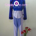 Setsuna F. Seiei from Mobile Suit Gundam Cosplay Costume back R
