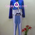 Setsuna F. Seiei from Mobile Suit Gundam Cosplay Costume front R