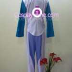 Setsuna F. Seiei from Mobile Suit Gundam Cosplay Costume inner 2 back