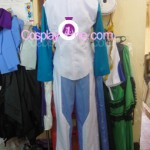 Setsuna F. Seiei from Mobile Suit Gundam Cosplay Costume inner 2 back prog