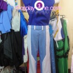 Setsuna F. Seiei from Mobile Suit Gundam Cosplay Costume inner back prog