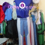 Setsuna F. Seiei from Mobile Suit Gundam Cosplay Costume front prog