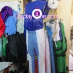 Setsuna F. Seiei from Mobile Suit Gundam Cosplay Costume inner side prog