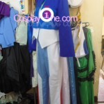 Setsuna F. Seiei from Mobile Suit Gundam Cosplay Costume side prog