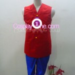 Monkey D. Luffy from One Piece Cosplay Costume front in