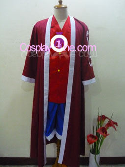 Monkey D. Luffy from One Piece Cosplay Costume front