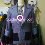 Riddler from DC Comics Cosplay Costume front prog