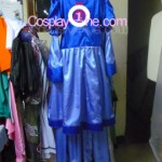 Ice Queen from Adventure Time Cosplay Costume back prog