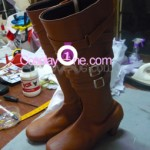 Lucia from Devil May Cry Cosplay Costume boot prog