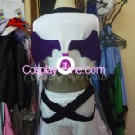 Moogle Rave from Anime Cosplay Costume black prog2