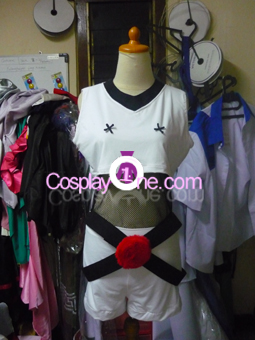 Moogle Rave from Anime Cosplay Costume front prog2