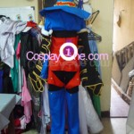 Paine Black Mage from Final Fantasy X Cosplay Costume back prog2