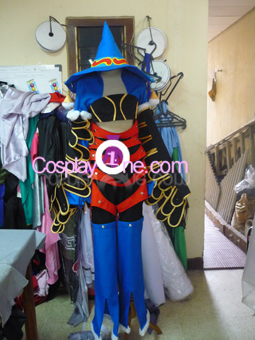 Paine Black Mage from Final Fantasy X Cosplay Costume front prog2