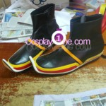 Paine Black Mage from Final Fantasy X Cosplay Costume shoes prog
