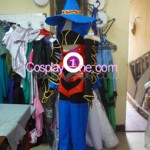 Paine Black Mage from Final Fantasy X Cosplay Costume side prog2