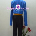Trunks from Dragon Ball Z Cosplay Costume back