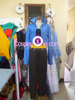 Trunks from Dragon Ball Z Cosplay Costume front prog