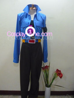 Trunks from Dragon Ball Z Cosplay Costume front