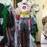 Christie Monteiro from Tekken Video Game Cosplay Costume back prog2