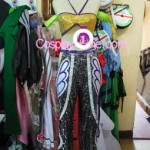 Christie Monteiro from Tekken Video Game Cosplay Costume front prog2