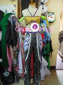 Christie Monteiro from Tekken Video Game Cosplay Costume front prog2