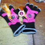 Christie Monteiro from Tekken Video Game Cosplay Costume glove prog