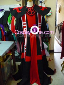 Karthus from League of Legend Cosplay Costume front prog