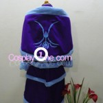 Midnight Ahri from League of Legends Cosplay Costume back