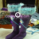 Midnight Ahri from League of Legends Cosplay Costume boot prog