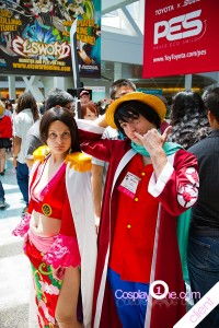 Boa Luffy from One Pice Cosplay Costume