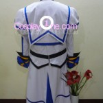 Nanoha from Magical Girl Lyrical Nanoha Cosplay Costume back