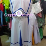 Nanoha from Magical Girl Lyrical Nanoha Cosplay Costume back prog