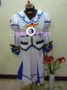 Nanoha from Magical Girl Lyrical Nanoha Cosplay Costume front