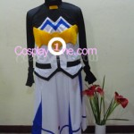 Nanoha from Magical Girl Lyrical Nanoha Cosplay Costume front in