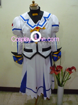 Nanoha from Magical Girl Lyrical Nanoha Cosplay Costume front