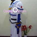 Nanoha from Magical Girl Lyrical Nanoha Cosplay Costume side