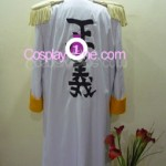 Admiral Kizaru from One Piece Cosplay Costume back