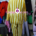 Admiral Kizaru from One Piece Cosplay Costume back in prog
