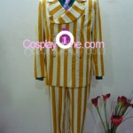 Admiral Kizaru from One Piece Cosplay Costume front in