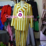 Admiral Kizaru from One Piece Cosplay Costume front in prog