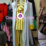 Admiral Kizaru from One Piece Cosplay Costume front prog