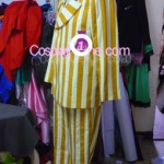 Admiral Kizaru from One Piece Cosplay Costume side in prog