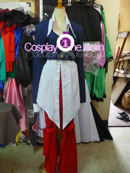 Iori Yagami from The King of Fighters '95 Cosplay Costume front prog