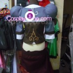 Outlander from Novel Cosplay Costume back prog