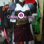 Outlander from Novel Cosplay Costume front prog