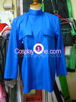 Tardis from Anime Cosplay Costume front prog