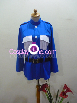 Tardis from Anime Cosplay Costume front