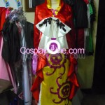 Boa Hancock Impel Down Arc from One Piece Cosplay Costume front in 2 prog