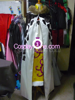 Boa Hancock Impel Down Arc from One Piece Cosplay Costume front prog