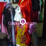 Boa Hancock Impel Down Arc from One Piece Cosplay Costume side in 2 prog